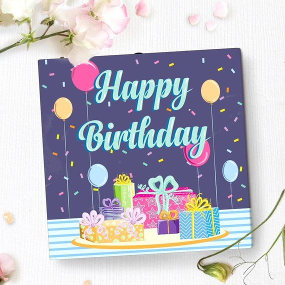 Birthday Greeting Card With Video Screen Unique Birthday Etsy Unique Birthday Cards Personalized Birthday Cards Birthday Greeting Cards