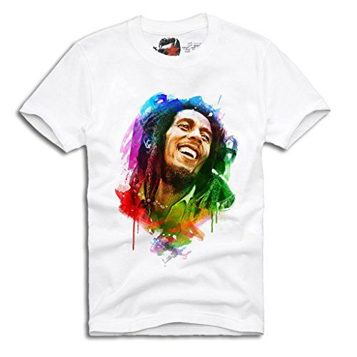 E1SYNDICATE T-SHIRT BOB MARLEY ART REGGAE RASTA DOPE LAST KINGS Sz. S-XL #regalo #arte #geek #camiseta