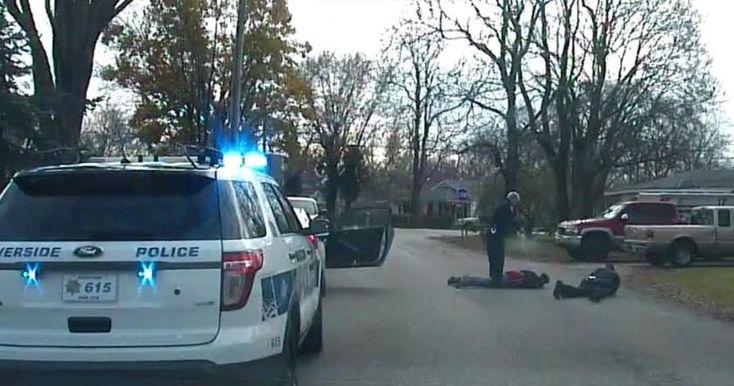 Полицейский получил травму и был госпитализирован. К счастью, его жизни ничто не угрожает.