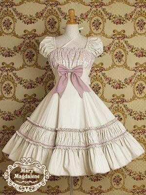 <メアリーマグダレン>2013?年発売 カルロッタワンピース  Product code:251-0102  ウエストラインの美しいパフスリーブワンピースです。胸元の繊細なチュールレースや、たっぷりと広がるスカートがエレガントな雰囲気を醸しだします。 Color number 1.シェルローズ 2.オリーブ【通販限定カラー】   3.生成   4.ミルキーミント    Price\26,040(本体価格 ¥24,800)