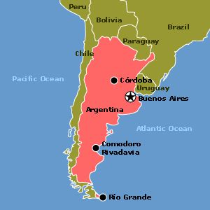 Argentina es en South America. La capital es Buenos Aires   Español en mi vida   Pinterest ...