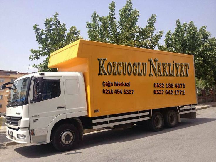 Kozcuoğlu evden eve nakliyat başta İstanbul, Kartal, Kadıköy ve tüm Türkiye 'ye…