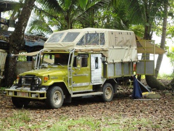 Toyota Land Cruiser FJ45 Pick Up Truck Camper Tiny House