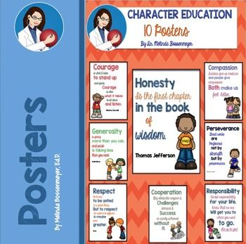 25+ best ideas about Character education posters on Pinterest ...