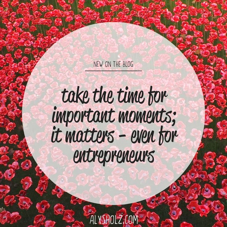 just a little reminder for #entrepreneurs to take time for the important things. It can be so easy to just power through when you have things to do but it is just so important to make time in our work (and #joebiden backs me up today) for life. So as one national pauses for #anzacday I challenge you all to make room for time for people you love today.