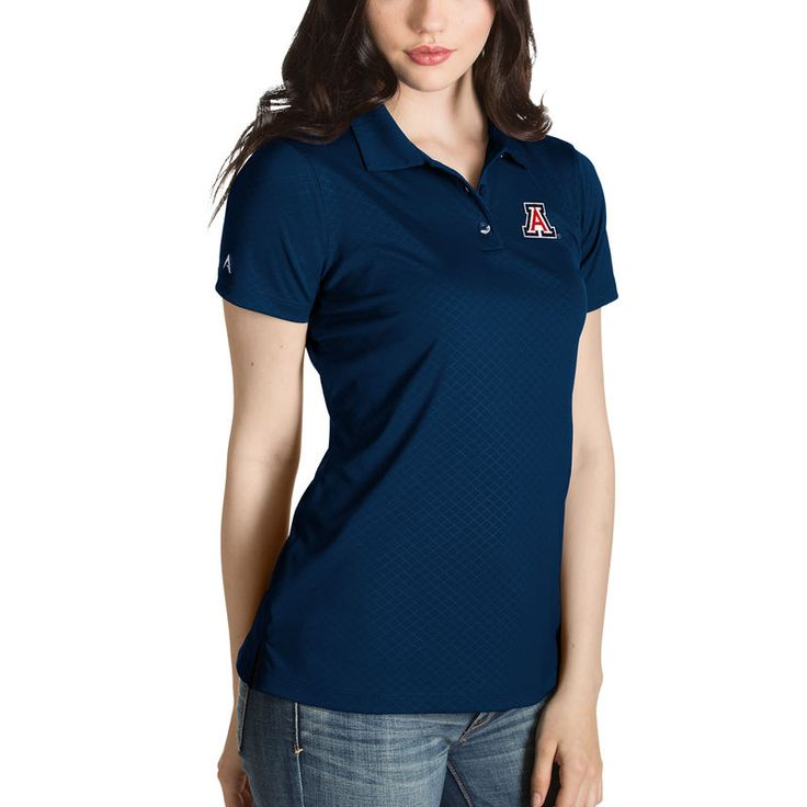 Arizona Wildcats Antigua Women's Desert Dry Inspire Polo - Navy