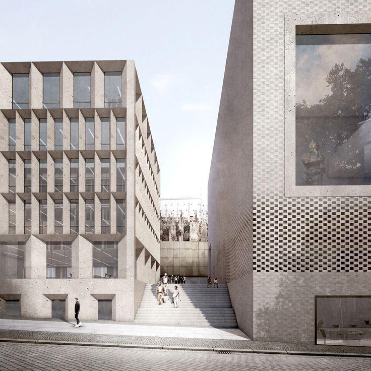Staab Architekten Unveils Planning Designs for Cologne Historic Center,© Stab Architekten