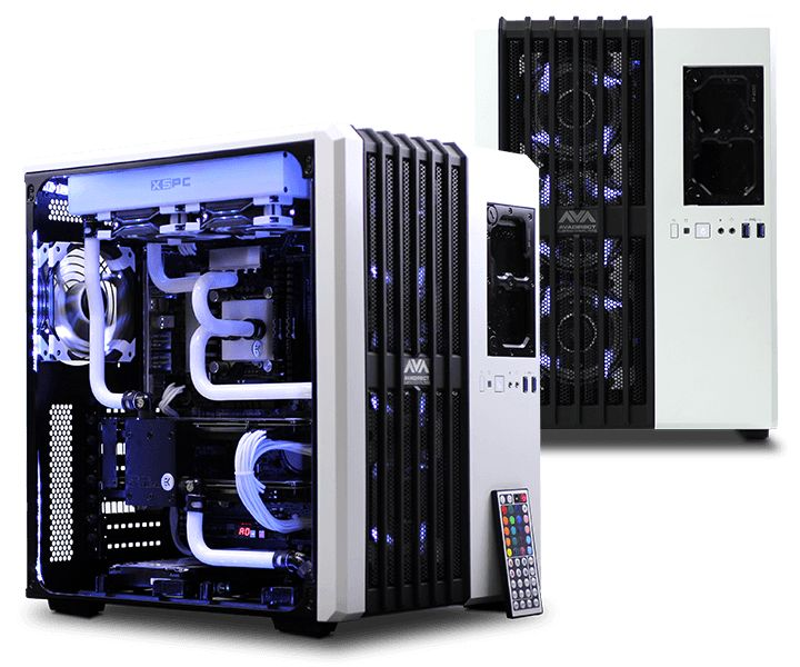Awesome bent hardline liquid cooling setup | Gaming ...