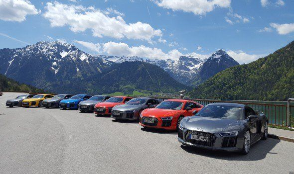 Exciting Journey behind the wheel of Audi…: Ets. F.A. Kettaneh, the exclusive distributor of Audi cars in Lebanon, organized an adventure…
