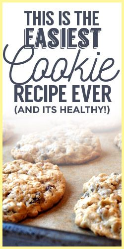 This Is The Easiest Cookie Recipe Ever (And It's Healthy!)
