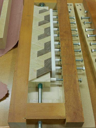 Spalm design End grain Cutting Board build - Part 3 - by CalgaryGeoff @ LumberJocks.com ~ woodworking community