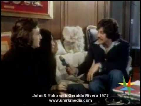 Geraldo Rivera With John & Yoko 1972 (Interview; In The Studio & Sightseeing In San Francisco )