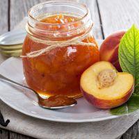 Perfect peach marmalade