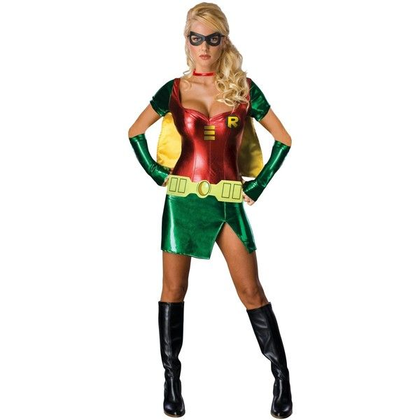 Sexy Robin Adult Costume ($45) ❤ liked on Polyvore