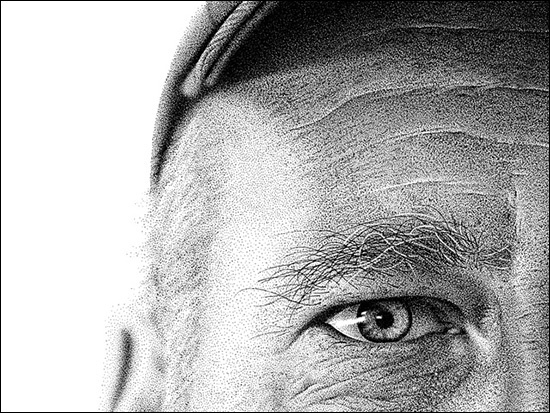 Portrait Made of 2.1 Million Ink Dots!! an inspirational story of Amnesiac Benjaman Kyle. |Unbelievable Facts|