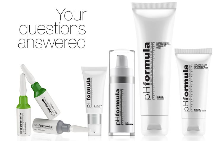 I have had acne for most of my life - what is the best pHformula product to use? pHformulas ACNE prescription products are  specifically formulated to correct the main apneic manifestations such as comedones, papules and pustules. They are designed to act on the 4 factors which trigger acne. 1. Seborrhoea 2. Hyperkeratinisation 3. Microbial colonisation (P acnes) 4. Inflammation Consult your skin specialist to advise you on what the best product/treatment is for your acne. #questionsanswered…