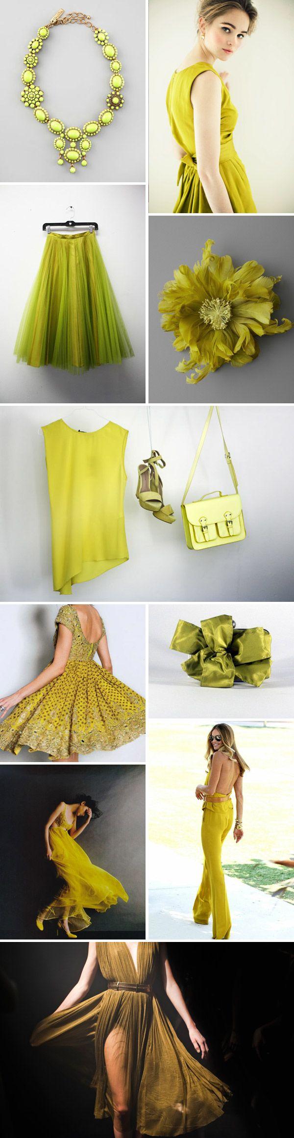 Chartreuse Crush. | Rock My Wedding