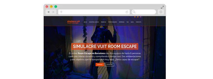 Diseño y desarrollo de la página web http://roomescapesimulacrevuit.es/ para Simulacre VUIT Room Escape. Más info sobre nuestro portfolio en: https://webbingbcn.es/creacion-paginas-web-porfolio/