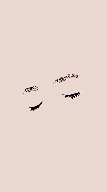 Ojos cerrados wallpaper