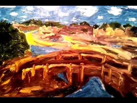 """ What a Wonderful World "" expressionist Sarkis Yerevanci"