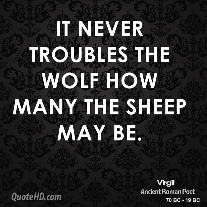Wolf And Sheep Quotes. QuotesGram