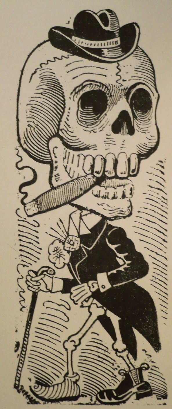 Calavera de un Lagartijo Jose Guadalupe Posada