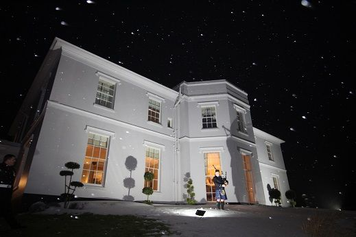 One aspect of my participation at a Wedding is to play for the arrival of the Evening Guests. This is the sight (& sound) Katie-Lees & Fraser's guests experienced on arrival at Brooks Country House while it was snowing on Saturday Night :-) :-) :-)  www.johncampbellbagpiper.webs.com  #SouthWales #Weddingmusic #Bagpipes #Hereford #Herefordshire #Cardiff #Bridgend #Swansea #Abergavenny #ValeofGlamorgan #Gloucs #WelshWeddings #NewportGwent #NewportWales #Gwent #Torfaen #RossonWye