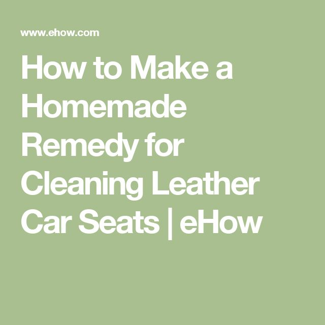 1000 ideas about clean leather seats on pinterest cleaning stains and homemade laundry detergent. Black Bedroom Furniture Sets. Home Design Ideas