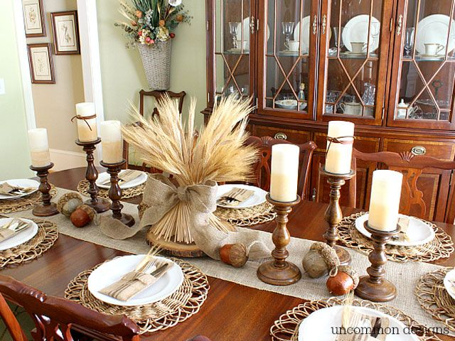 Top 25 best thanksgiving centerpieces ideas on pinterest for Inexpensive thanksgiving centerpieces