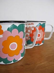Finel enamel mugs