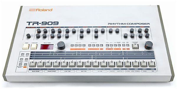 The Roland TR-909 Rhythm Composer is a partially analog, partially sample-based, drum machine introduced by the Japanese Roland Corporation in 1983.