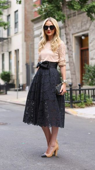 Beautiful lace skirt