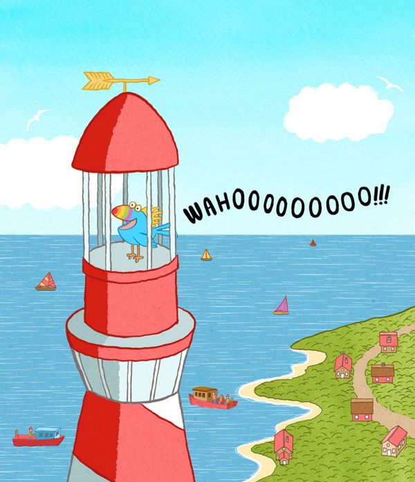 Parrot in a lighthouse