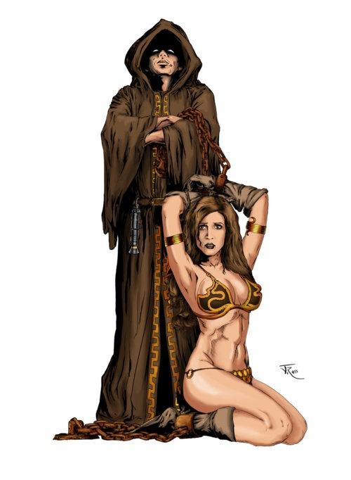 Jedi's Slave Leia