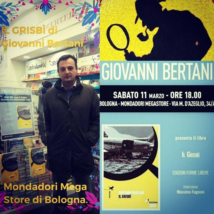 """""""Mi piace"""": 0, commenti: 1 - Isabella Grassi (@isa_alina) su Instagram: """"Per commemorare una presentazione nel capoluogo emiliano. #bobbylago #ilgrisbí"""""""