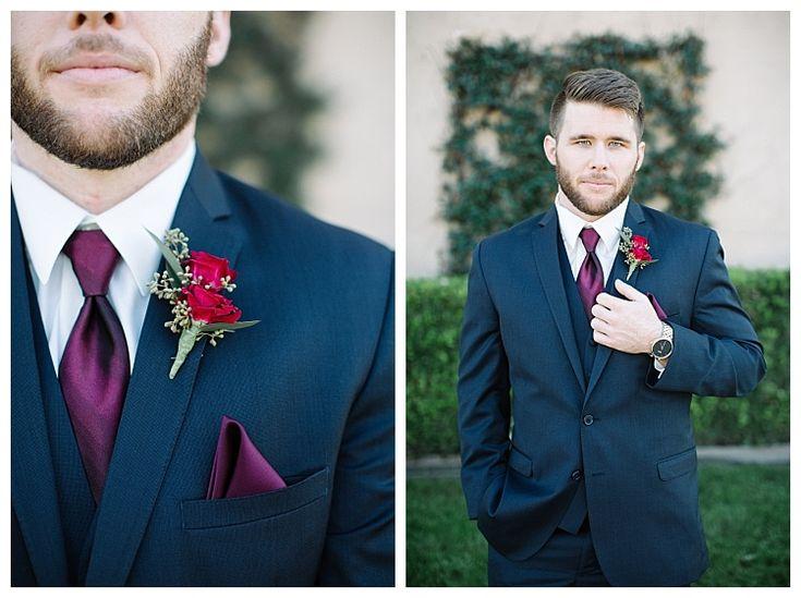 Close up of Groom in suit   Brooke Bakken BlogEBell Club Wedding   Jen + Josh   Long Beach California Photography