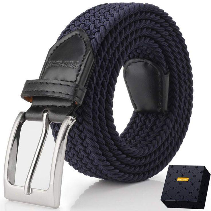 Elastic Braided Belt, Fairwin En   – Elastic Waist Belt