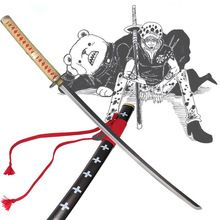 Japanese samurai cosplay One Piece katana Carbon steel anime bleach sword Decoration Crafts  swords //Price: $US $146.30 & FREE Shipping //     #tshirtdesign