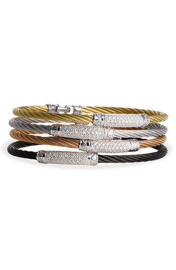 I will take one of each please! Charriol Diamond Pavé Bar Bracelet available at Nordstrom