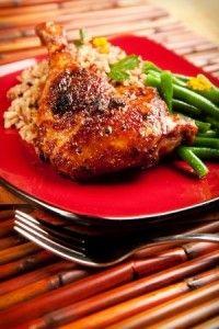 #recette des cuisses de canard au miel et cinq épices !