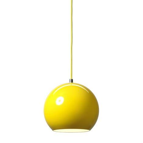 Topan VP6 pendant yellow