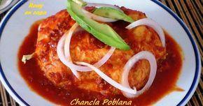 Fabulosa receta para CHANCLAS POBLANAS comida mexicana. Un platillo muy tradicional de la bella ciudad de Puebla, México que seguramente querrás probar porque se ve y sabe delicioso!! Mira la receta en video en el siguiente enlace https://youtu.be/LEFk4OoVdMw