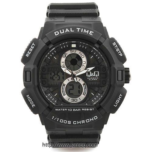 Produk jam tangan Q&Q gw81j001y original tipe dualtime (digital dan analog) dengan kualitas original, premium tahan segala medan, cocok untuk digunakan aktifitas olahraga atau outdoor. Water resistant sampai pada kedalaman 100 meter    Spesifikasi Jam Tangan Q&Q GW81j001Y Origina…
