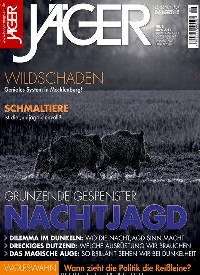 Grunzende Gespenster: #Nachtjagd 🐗 🌜  Jetzt in @Jaeger_Magazin:  #Wildschwein #Jagen #Jäger #Wildschweinjagd #Jagd