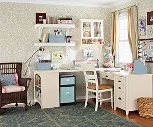 Crafts Central: Used Crafts, Little Crafts, Organizations Ideas, Organizations Crafts, Crafts Spaces, Crafts Rooms Storage, Rooms Ideas, Crafts Corner, Sewing Rooms