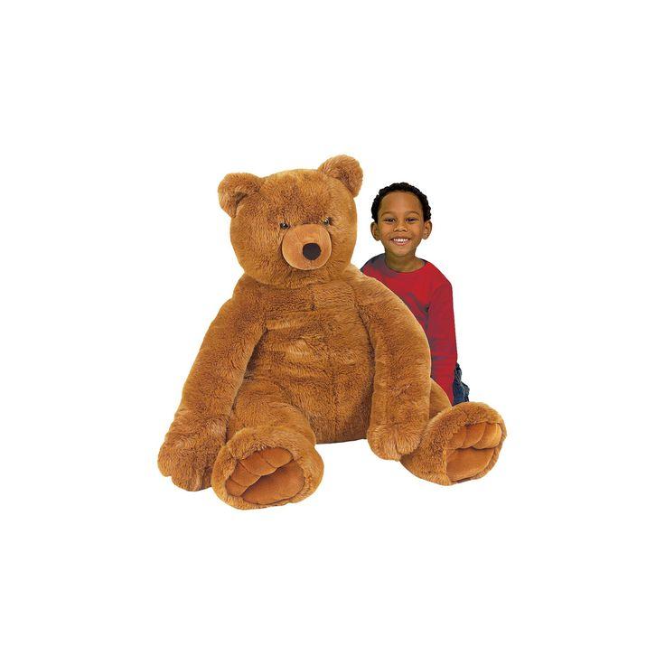 Melissa & Doug Jumbo Teddy Bear-Brown