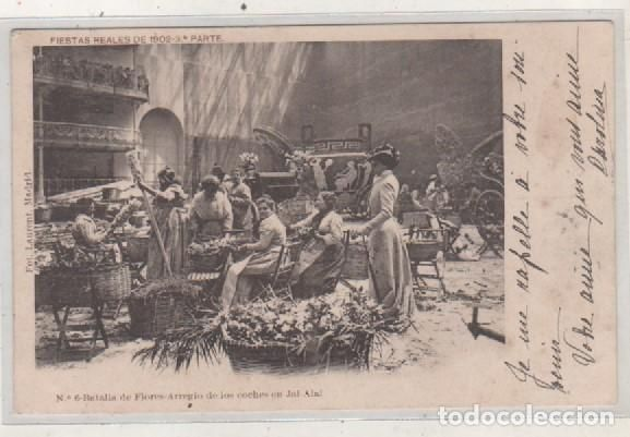 Royal Festivals of 1902 Part 3 Fot Laurent.  Nº 6 Batalla de Flores Arrangement of the cars jai Alai - Photo 1