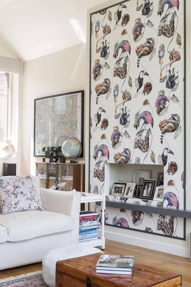 Our favourite part of the living room is the House of Hackney wallpaper   featuring many. 25  best ideas about House Of Hackney Wallpaper on Pinterest