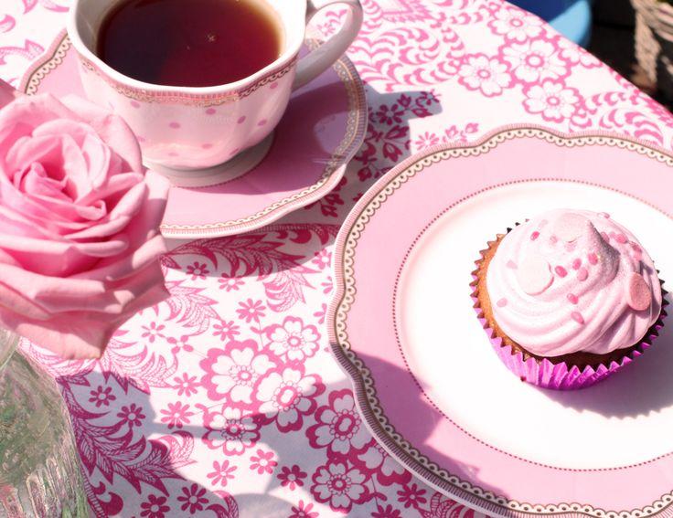 "Tea cup, ""Rosie"", porcelain by Lisbeth Dahl Copenhagen Spring/Summer 13. #LisbethDahlCph #Decoration #Pink"