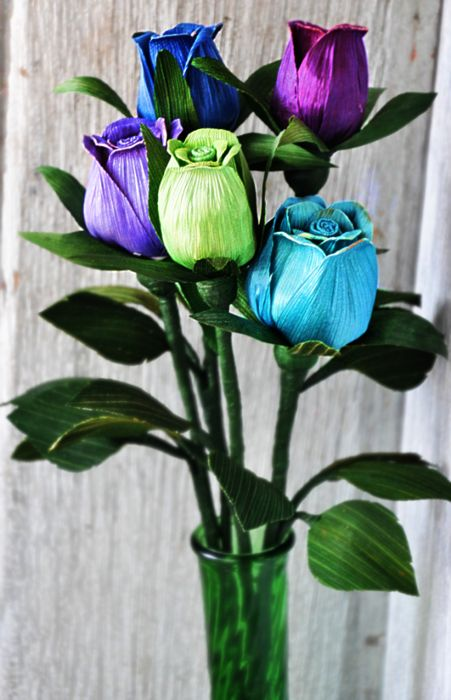 How to DIY Beautiful Corn Husk Flowers